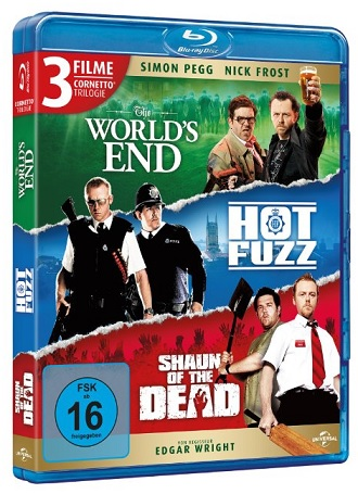 Cornetto Trilogy bluray