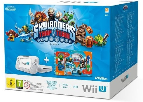 Nintendo Wii U Skylanders Trap Team Basic Pack