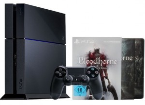 PS4 mit Bloodborne Bundle