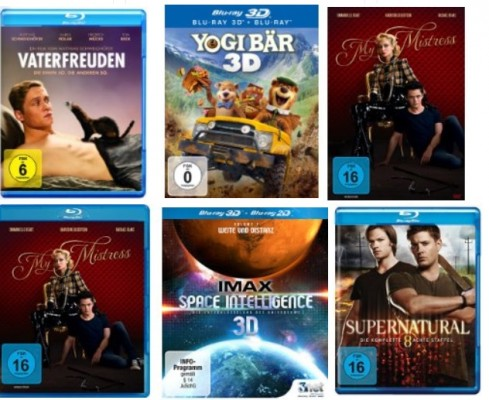 blurays dvds