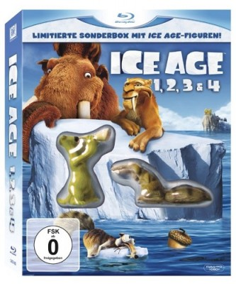 Ice Age 1 bis 4