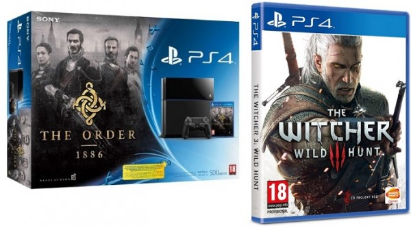 PS4 mit Witcher