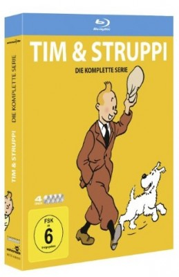 Tim und Struppi Bluray