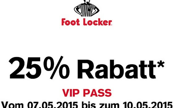 footlocker rabatt