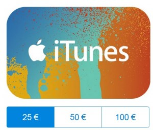 itunes aktionskarten