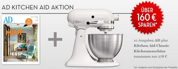 AD Kitchen AID Aktion