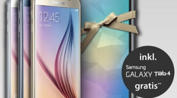Galaxy S6 und Tablet Tab 4