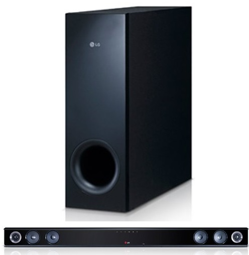 lg nb3530a 2 1 soundbar mit wireless subwoofer 300 watt usb f r 89 57 bei amazon. Black Bedroom Furniture Sets. Home Design Ideas