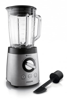 Philips HR 2195 08 Avance Collection Standmixer aus Edelstahl