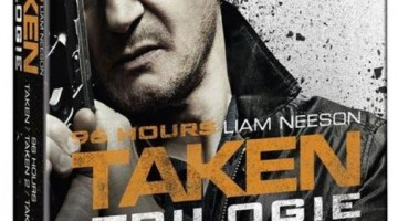 Taken Trilogie Bluray