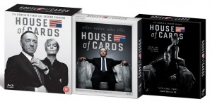 House of Cards Bluray