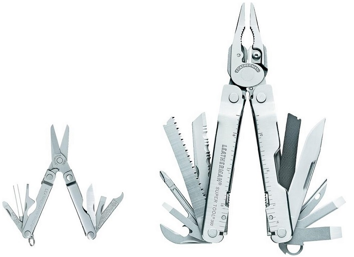 Leatherman Multitool Super Tool 300 + Micra Multitool LTG831702