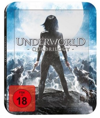 Underworld Quadrilogy Bluray