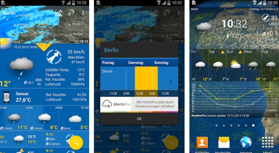 WeatherPro Android