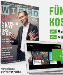 wired gratis