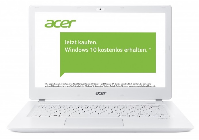 Acer Notebook mit Dos