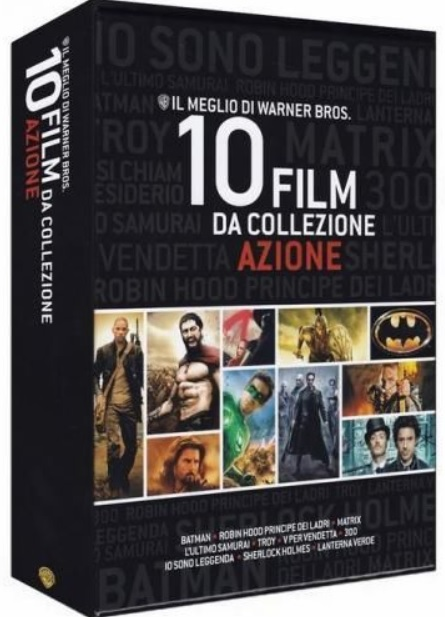 Best of Warner Bros 10 Film Collection Action