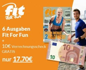 fit for fun aktion
