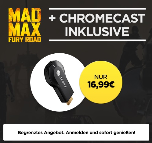 Chromecast Mad Max
