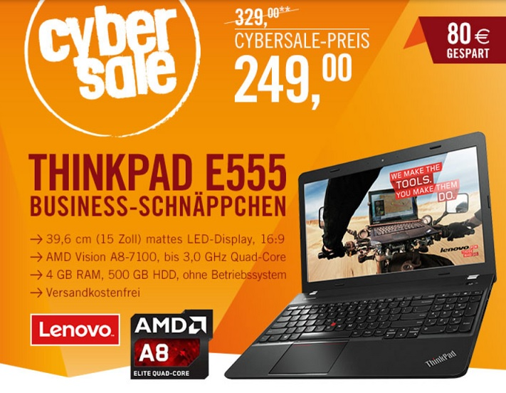 Lenovo ThinkPad Edge E555