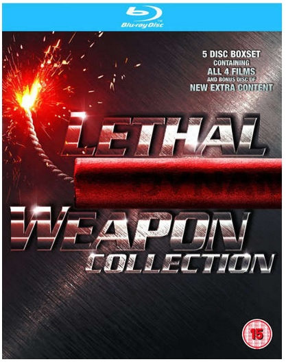 Lethal Weapon 1 bis 4