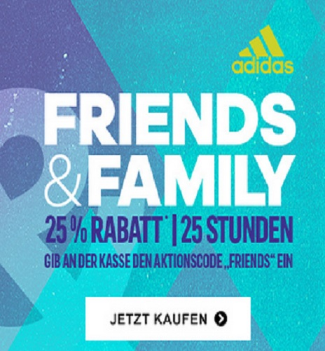 adidas friends family