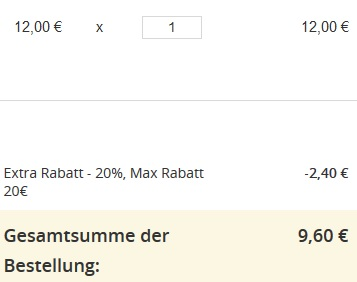 groupon warenkorb