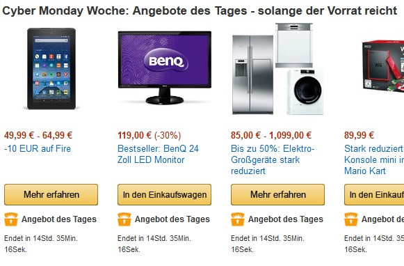 Tagesangebote amazon