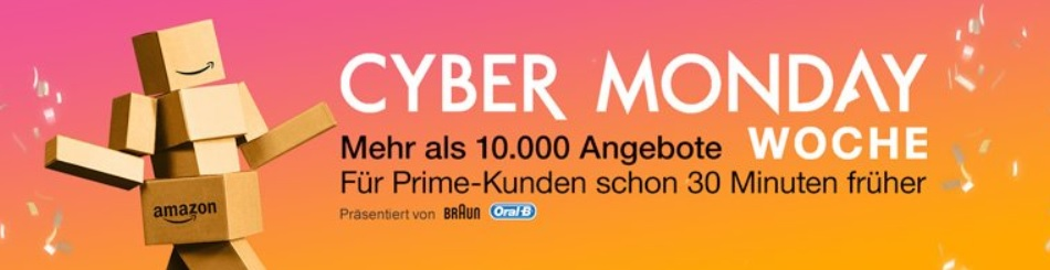 cyber monday woche angebote