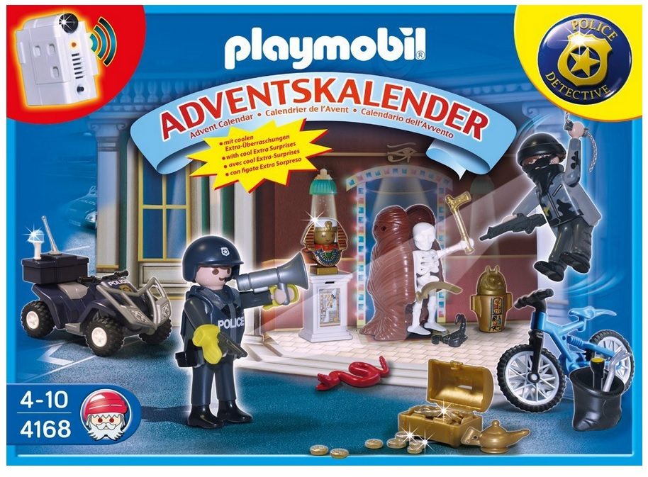 playmobil adventskalender polizeialarm schatzr uber auf der flucht ab 13 89. Black Bedroom Furniture Sets. Home Design Ideas