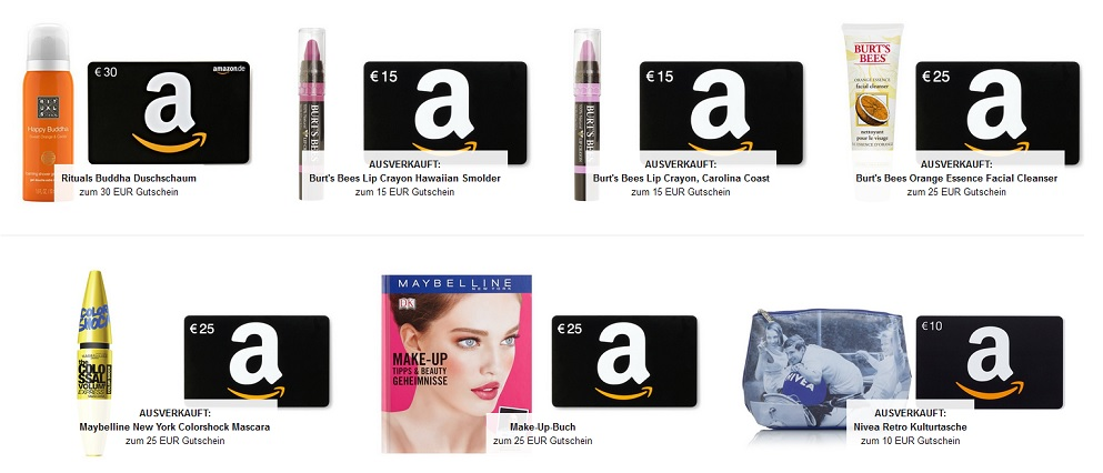 Amazon Beauty Aktion
