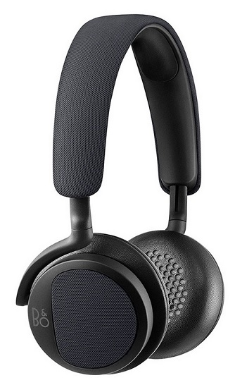 PLAY BeoPlay H2 On Ear Kopfhörer mit Mikrofon carbon Blue