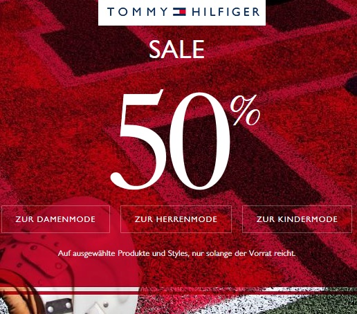 sale tommy