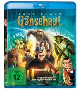 Gänsehaut bluray dvd