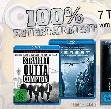 Amazon 6 blurays 30 euro bb
