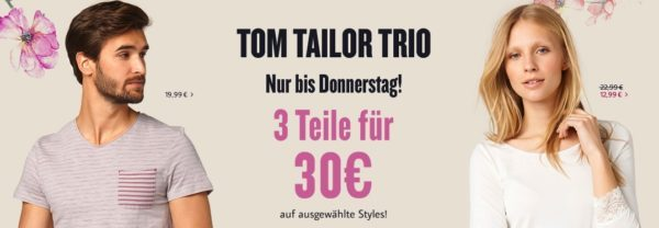 Tom Tailor 3for30eu IBB