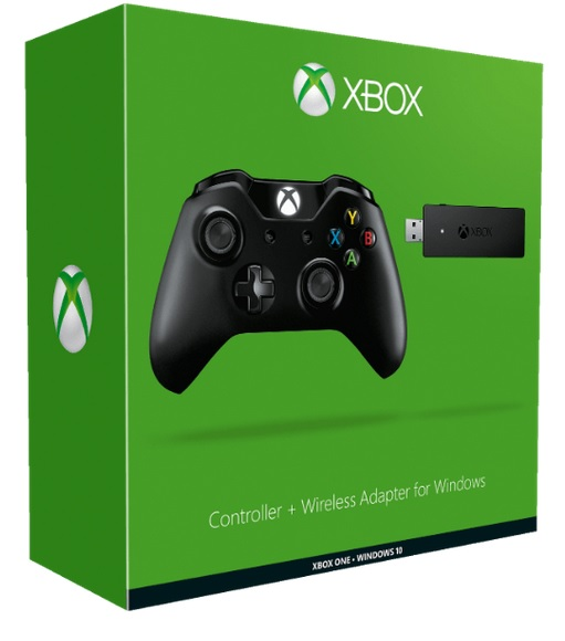 Xbox One Controller mit Wireless Stick