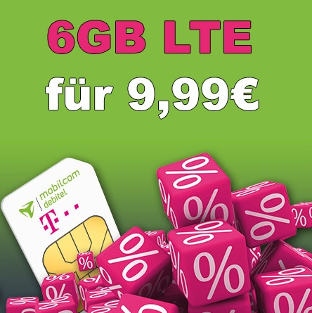 knaller telekom 6gb lte surf flat f r 9 99 monat update. Black Bedroom Furniture Sets. Home Design Ideas