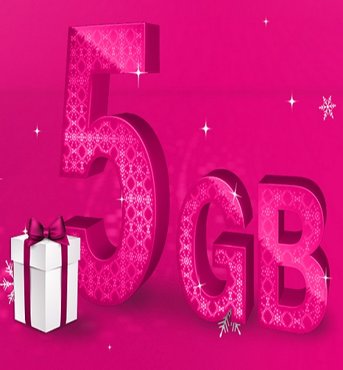 telekom verschenkt 5gb datenvolumen an mobilfunk kunden. Black Bedroom Furniture Sets. Home Design Ideas