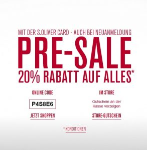 soliver-presale-angebote