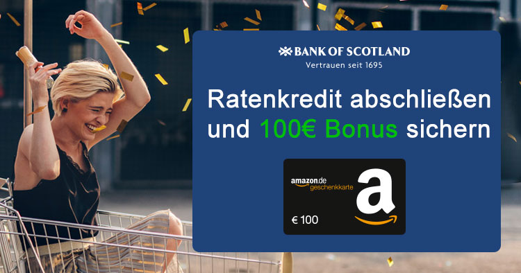 bank of scotland 100 gutschein f r ratenkredit. Black Bedroom Furniture Sets. Home Design Ideas