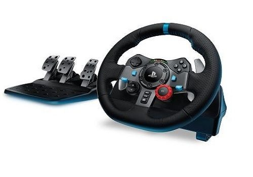 lenkrad mit pedale f r ps4 ps3 pc logitech g29 driving. Black Bedroom Furniture Sets. Home Design Ideas